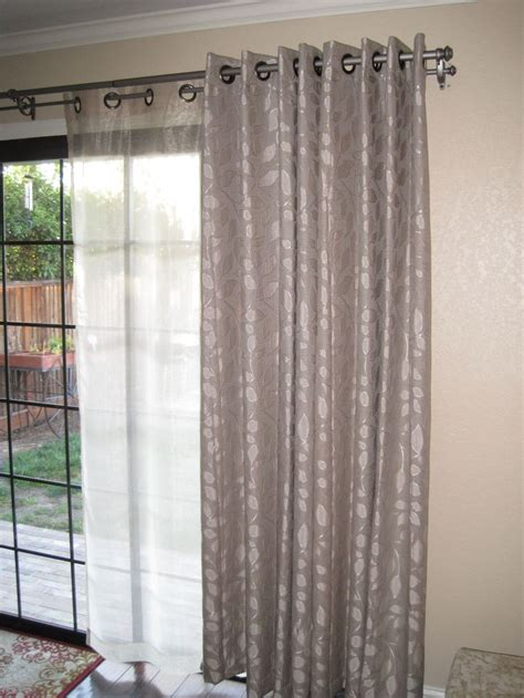how to make double curtain rods 1000 ideas about double curtains on pinterest drapery