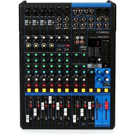 yamaha mg12xu mixer an 225 logo de 12 canales