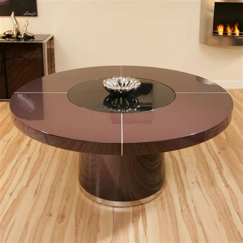 dining table large lazy susan dining table