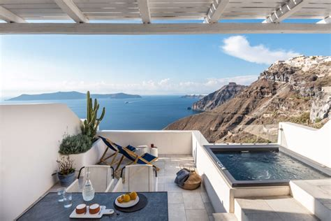 porto fira suites white sewn into endless blue porto fira suites in greece