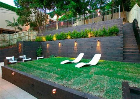 Terraced Backyard Ideas by Three Terrace Outdoor Living Space From Iconic Landscaping