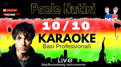paolo nutini rewind testo ten out of ten quot 10 10 quot paolo nutini base karaoke live