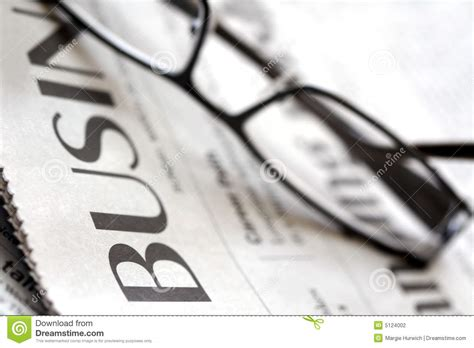 business section business section stock photography image 5124002