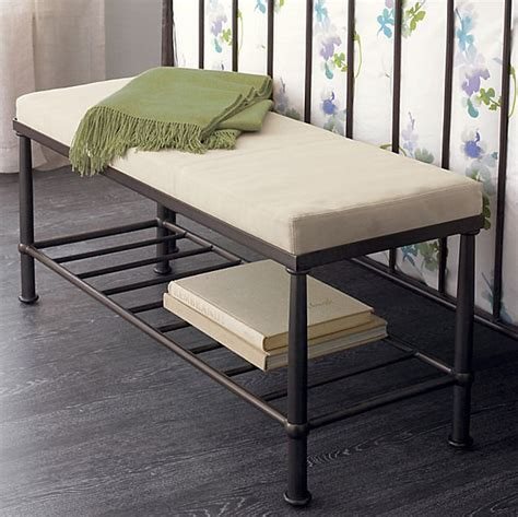 diy bench with cushion metal bench with cushion decoist