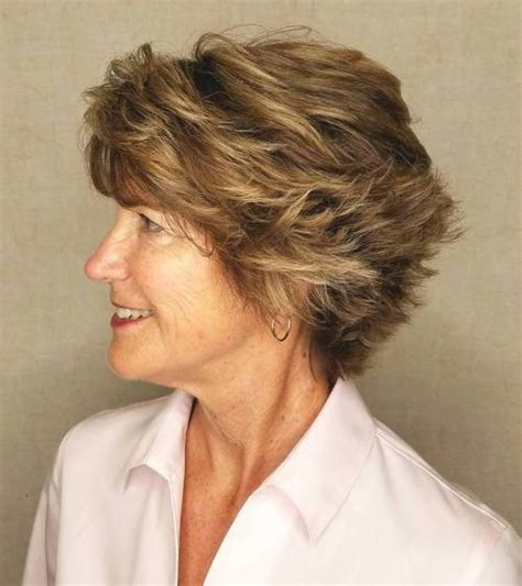 womens hairstyles over 50 feathered 90 classy and simple short hairstyles for women over 50