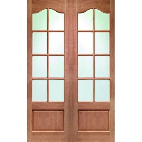 Glass Panel Double Door Hpd172 Glass Panel Doors Al Glass Panel Doors