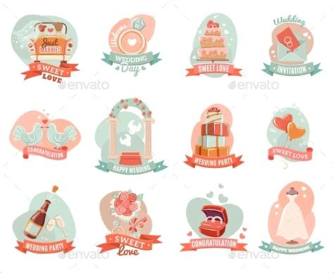 21 Wedding Sticker Templates Free Sle Exle Format Download Free Premium Templates Wedding Sticker Template