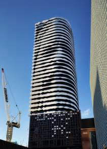 Portrait Of Indigenous Leader Etched Into 31 Storey Cool Apartment Buildings