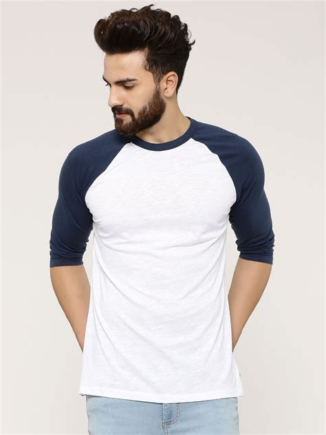 T Post Shirt News Subscription Service by Buy New Look Basic 3 4 Raglan T Shirt For S Blue