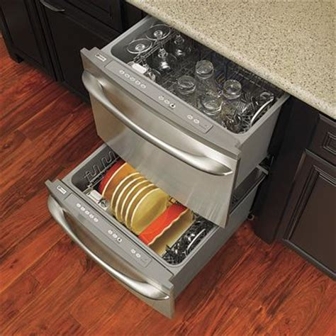 Pull Out Drawer Dishwasher by Best 25 Drawer Dishwasher Ideas On 2 Drawer