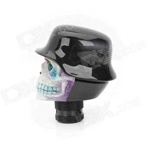 Resin Shift Knob by Buy Cool Skull In Hat Style Resin Car Gear Shift Knob