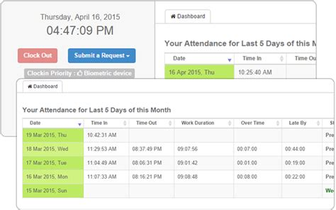 attendance management system attendance monitoring