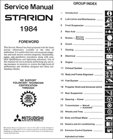 how to download repair manuals 1984 mitsubishi space electronic valve timing service manual car repair manual download 1984 mitsubishi starion engine control mitsubishi