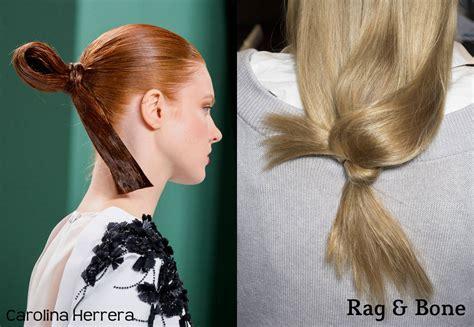 Runway Hairstyles by Fashion Weeks Runway Hairstyles 2017 Looking Back To