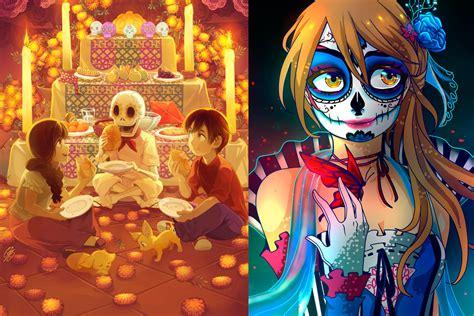 imagenes de calaveras anime colecci 243 n de fanarts el anime videojuegos y el d 237 a de