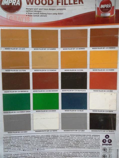 katalog warna cat no drop cat pelapis anti bocor tips haneutmoyan katalog warna dempul kayu impra 2017