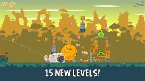 original angry birds now free on iphone and ipad, adds 15