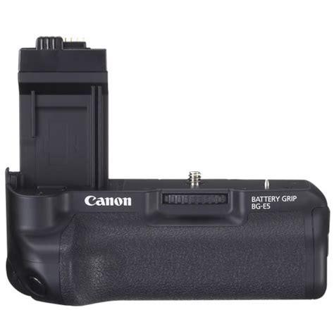 canon bg e5 battery grip for eos rebel xsi/t1i dslr