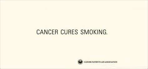 creative guerrilla quit smoking advertisement posters  slogans