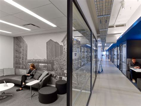 linkedin nyc offices by ia interior architects include a hidden speakeasy in the empire state