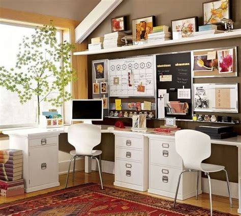 Home Office Desk Organization Ideas 10 Creative Home Offices Decorating Ideas And Organizing Tips