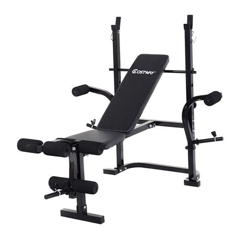weight training bench adjustable weight lifting multi function bench fitness