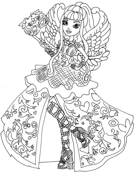 ever after high coloring pages bunny blanc ever after high coloring pages bunny blanc copy to and