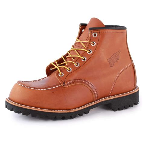 redwing boots for wing moc lug 8147 2 mens leather new shoes size 7 8 9