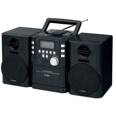stereo a cassette portable cd system with cassette and fm