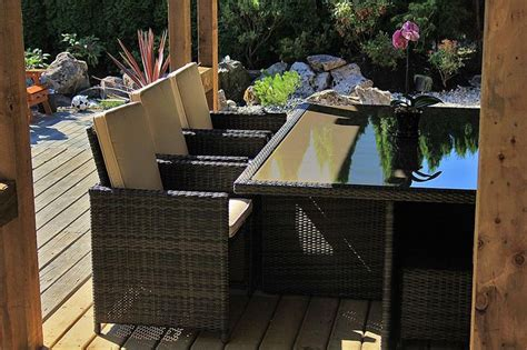 Builddirect Patio Furniture Kontiki Dining Sets Wicker Medium Ideal For 6 Seats Monte Carlo 1