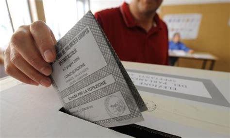interno elezioni regionali elezioni aperti seggi si vota per europee e amministrative