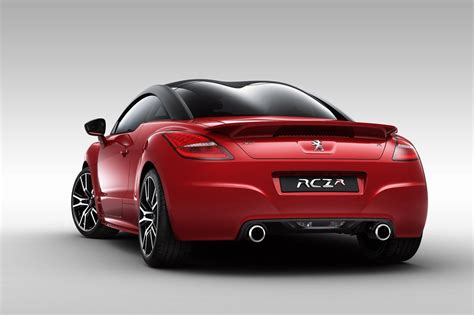 sport car peugeot peugeot rcz r sports car details and pictures