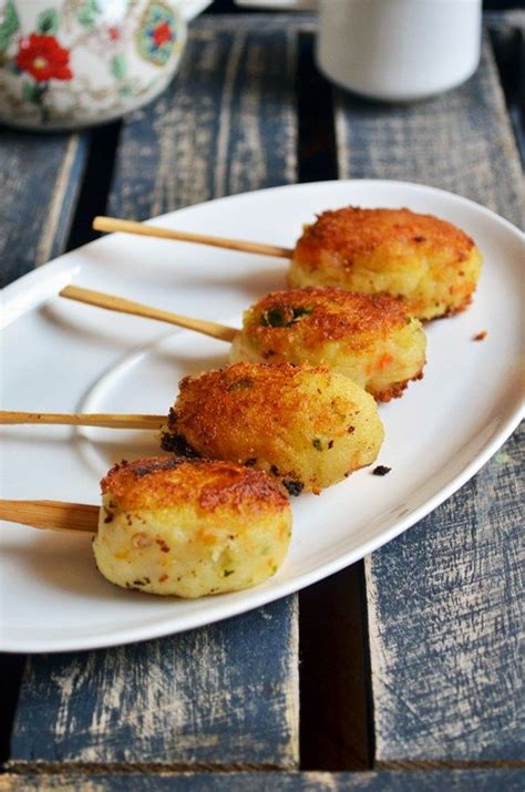 easy snack ideas potato lollipop quick and easy snack for