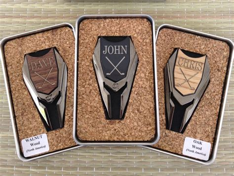 best groomsmen gifts personalized groomsmen gifts wood golf marker by