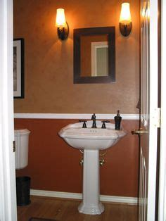 two tone paint bathroom walls 1000 images about half bathroom ideas on pinterest