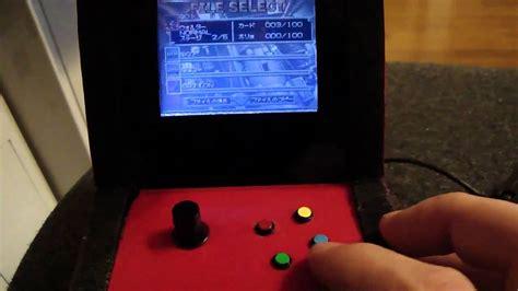 gameboy arcade mod gameboy advance sp mini arcade mod update 90 done youtube