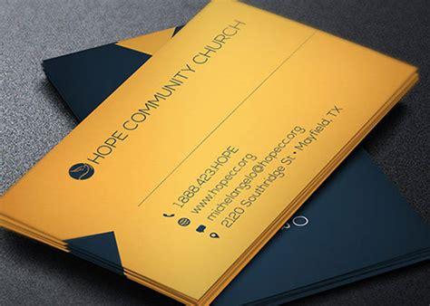 behance business card template modern pastor business card template on behance