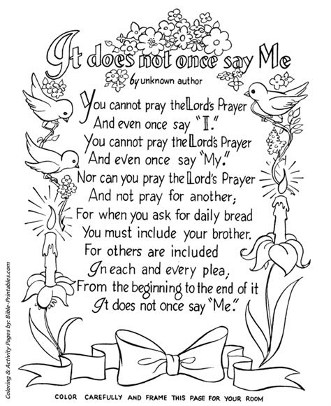 coloring page prayer free coloring pages of serenity prayer