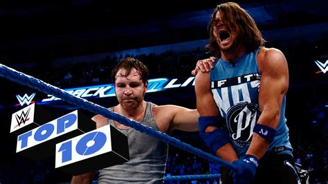 wwe youtube top 10 smackdown live moments wwe top 10 aug 30 2016