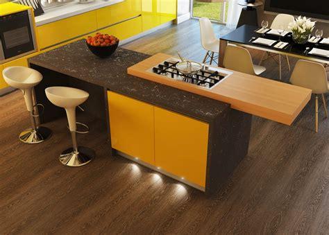 Kitchen Islands With Stoves by Cocinas Con Contraste Dise 241 Os Y Fotos Para Inspirarte