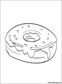 donut coloring page free coloring pages of donuts