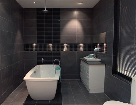 charcoal bathroom tiles extraordinary charcoal tile bathroom gray floor
