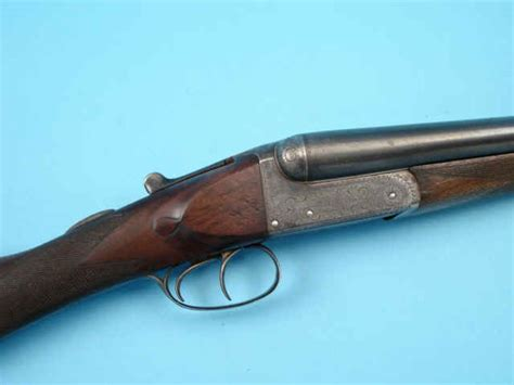 holloway naughton boxlock double barrel  gauge shotgun