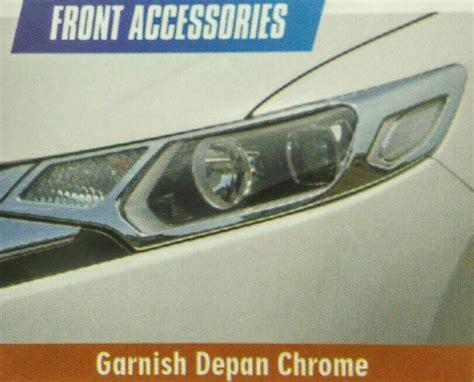Garnis Depan Triton Chrome jual harga paket garnis depan belakang jazz 2014 chrome