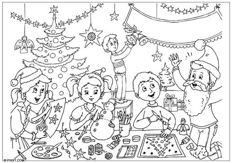 coloring pages joyeux noel bilde 229 fargelegge god jul bil 28186