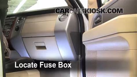 interior fuse box location 2007 2016 ford expedition