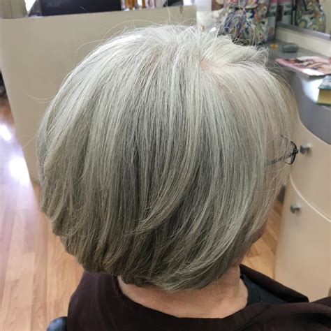 photos of salt and pepper bob hairstyles for black women salt and pepper bob haircuts hairstylegalleries com