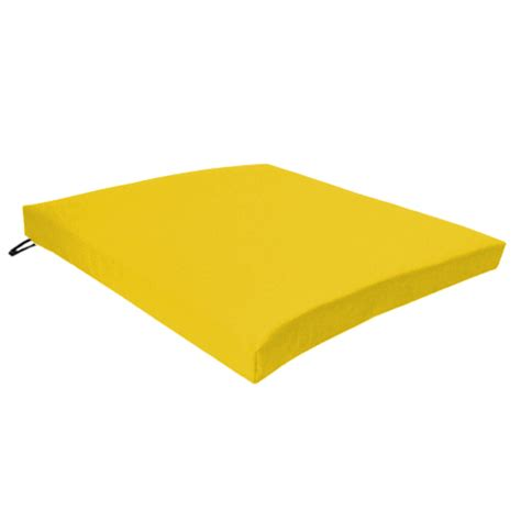 yellow outdoor chair cushions squared yellow white