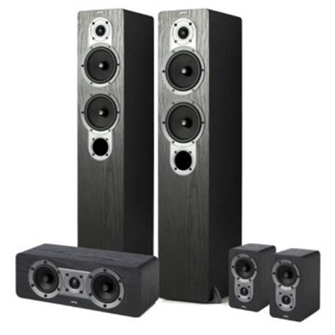 Kit Speaker Protektor Hd 40a conjunto de caixa torre home theater jamo s 426 hcs 3 black ash