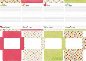 free photo templates for printing printable letter writing set picklebums